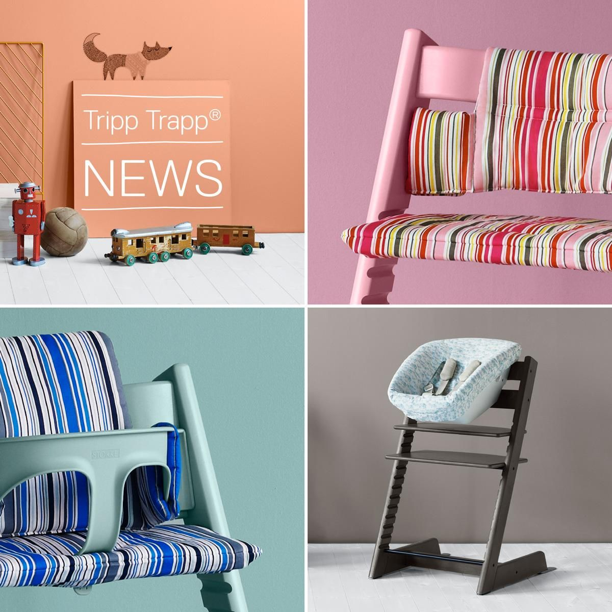 stokke high chair cushion sewing pattern backless height stool tripp trapp chairs  now available in more colors
