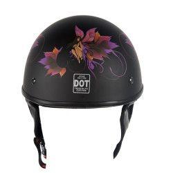 low profile motorcycle helmet Dot womens