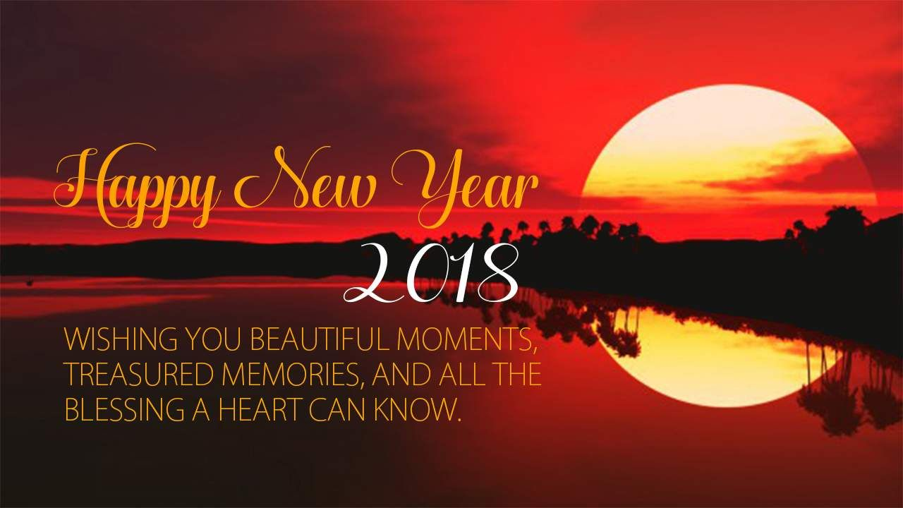 Happy New Year 2018 Wallpaper For Desktop Happy New Year 2018