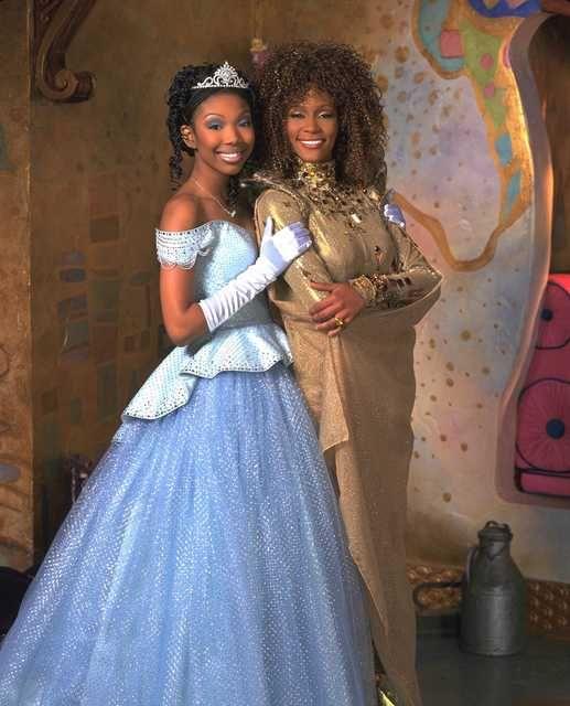Whitney Houston & Brandy From Cinderlla