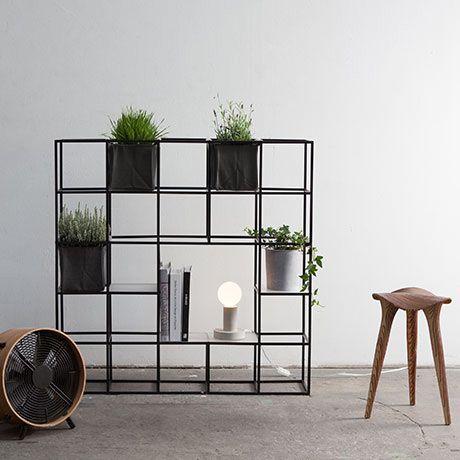 module furniture. 25 module plant system black by supercake monoqi furniture