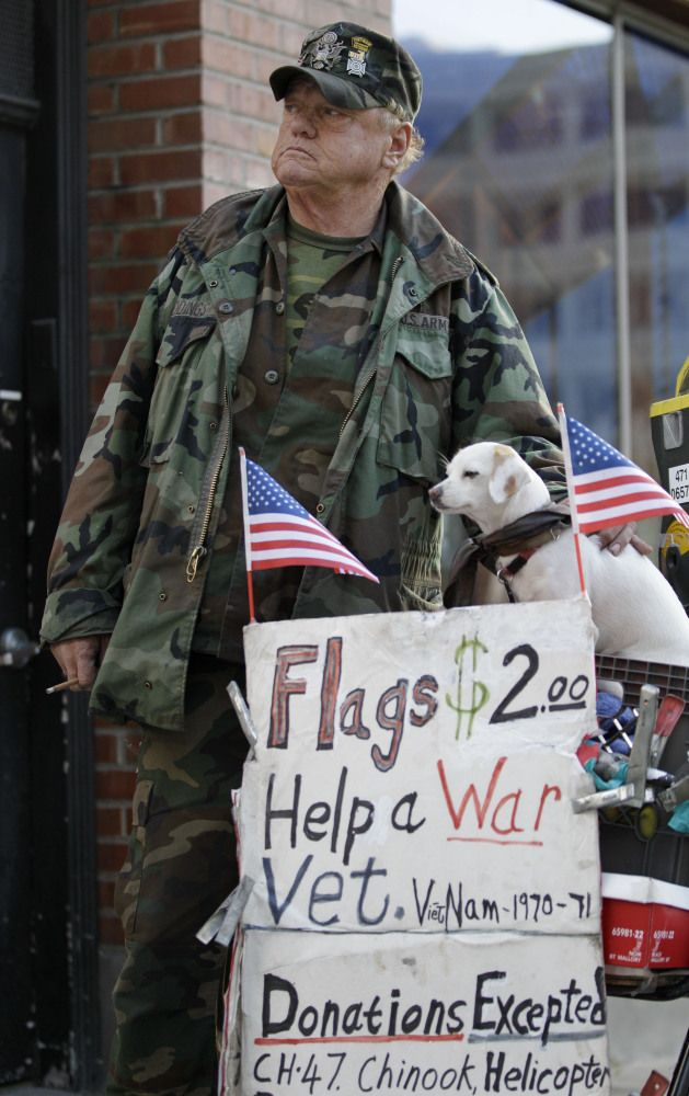 homelessness and veterans It is important to understand the needs of those veterans who are homeless we  describe characteristics of homeless male veterans and factors associated with.