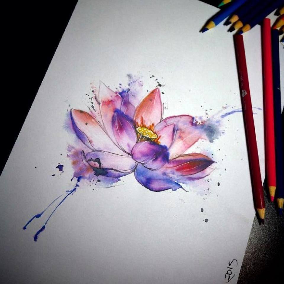 тату эскизы лотос разное татуировка растения татуировка цветы и