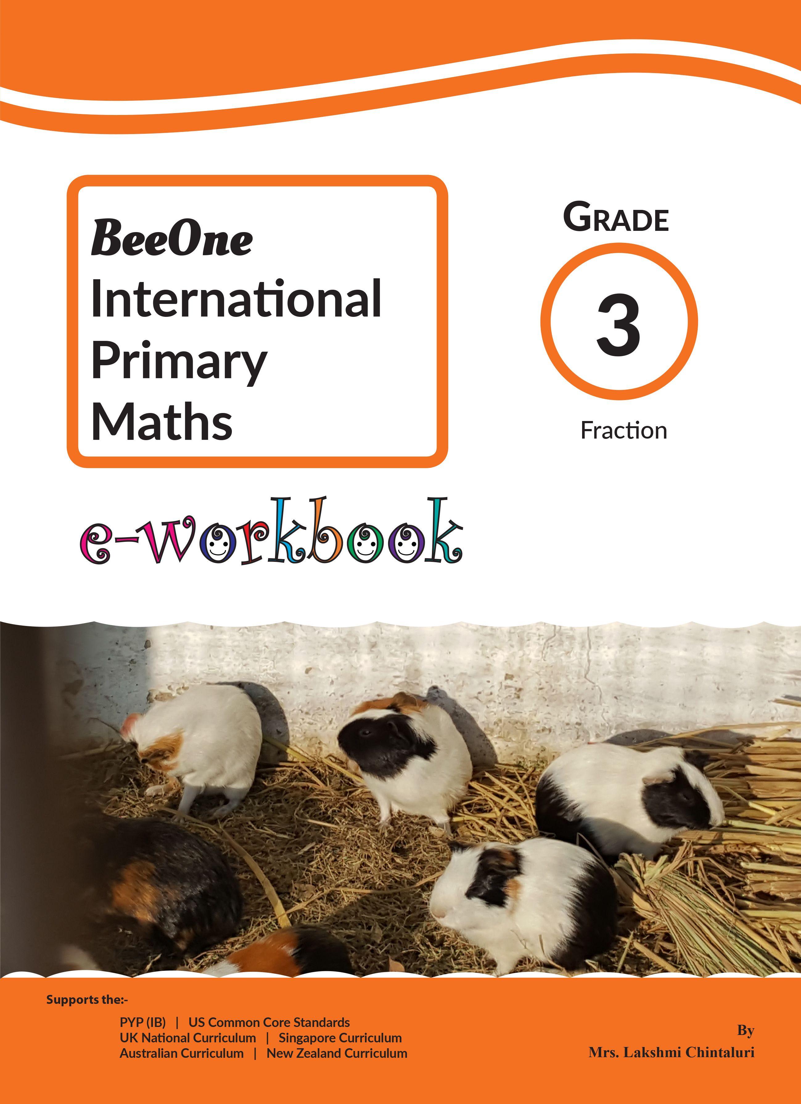 Fraction E Workbook Grade 3 For 1
