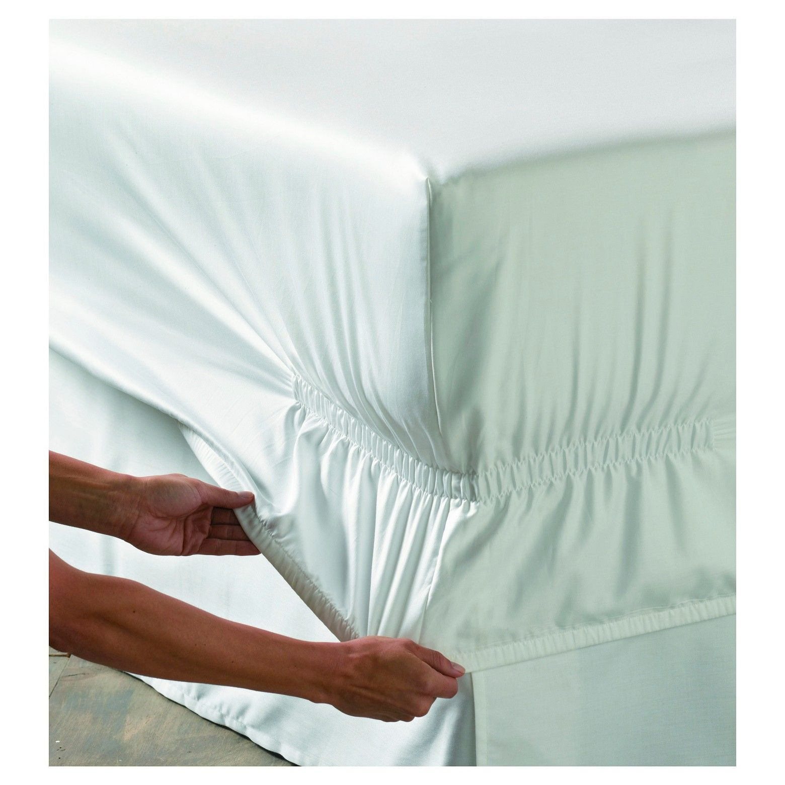 performance sheet set twin extra long white 400 thread count