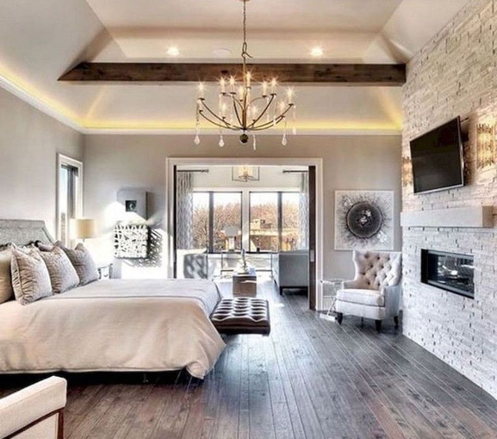 Cool 35 Stunning Master Bedroom Ideas More At Https Homishome Com 2019 04 17 35 Stunning Master Master Bedroom Remodel Remodel Bedroom Master Bedrooms Decor