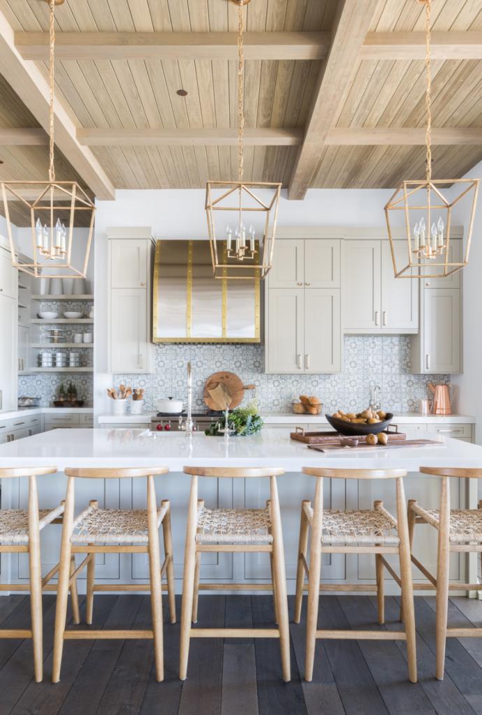 The 15 Most Beautiful Modern Farmhouse Kitchens On Pinterest Home Decor Kitchen Interior Design