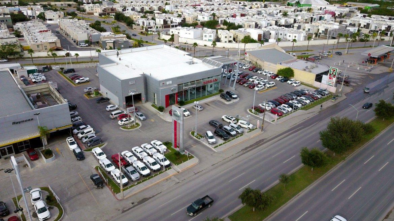 Fotografía Aérea De La Agencia Nissan En Reynosa Tamaulipas Tomada Con Dji Mavic Pro Structures Road