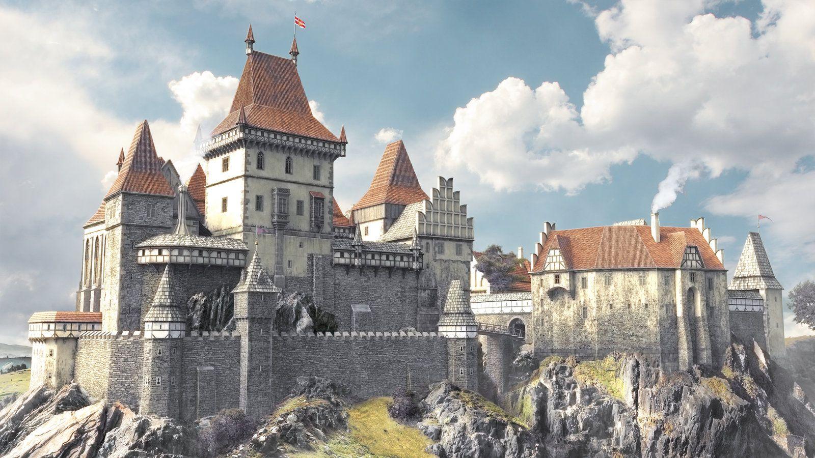 3d castle by Montezuma (1600×900)