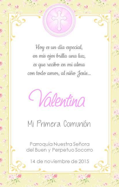 Pin De Julianan Vega En Convite Cards Souveniers Comunion