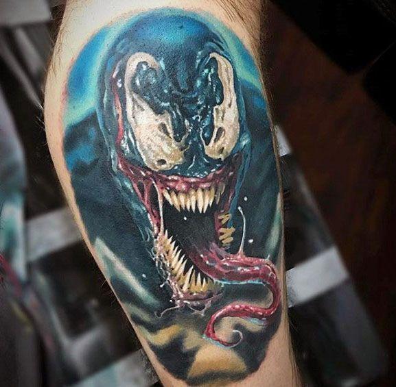 cc4e809d6 60 Venom Tattoo Designs For Men - Marvel Ink Ideas | Tattoos For Men ...
