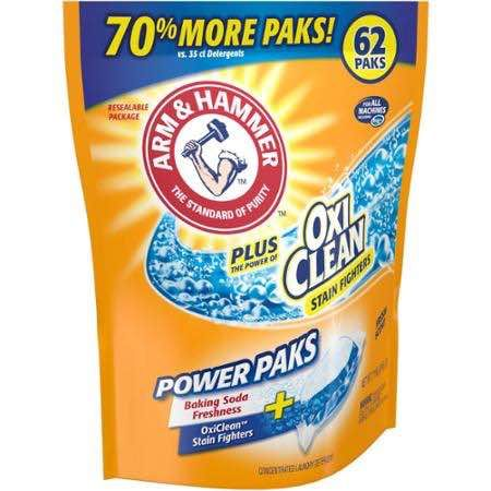 Last Chance Arm Hammer Power Paks Laundry Detergent Only 0 99 At Rite Aid With Printable Coupon Laundry Detergent Scented Laundry Detergent Printable Coupons