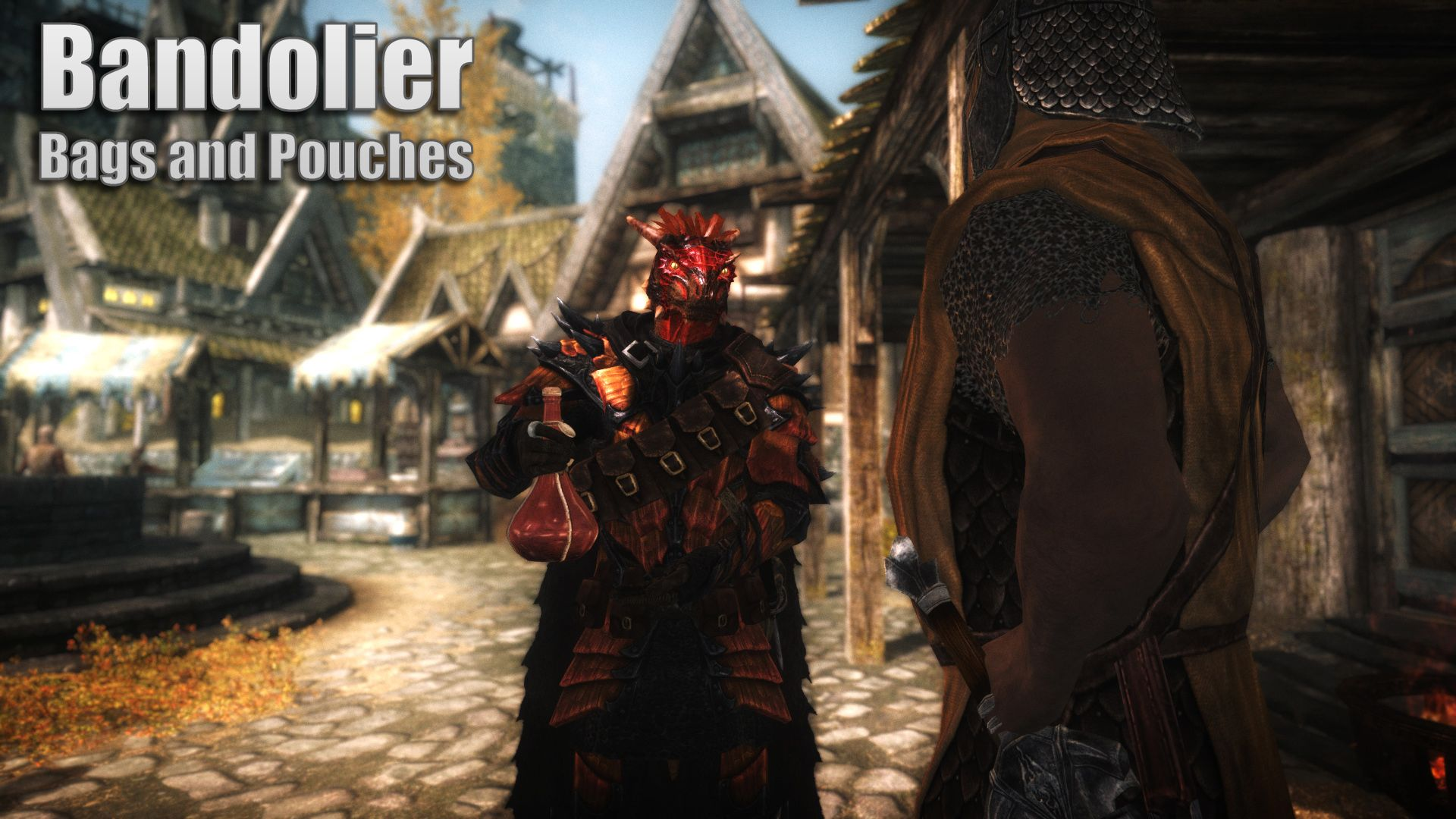 2e0ea3f3f954 Big Leather Backpack At Skyrim Nexus Mods And Community Skyrim