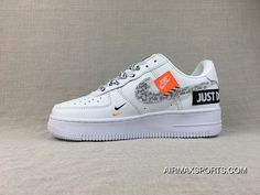 Nike Air Force 1 Just Do It AF1 Collaboration Pure White