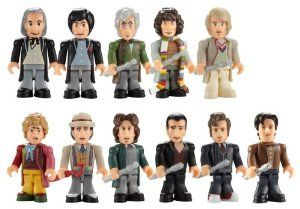 Doctor Who The Eleven Doctors Micro-Figure Set by Underground Toy from Doctor Who Disc: Affiliate Link