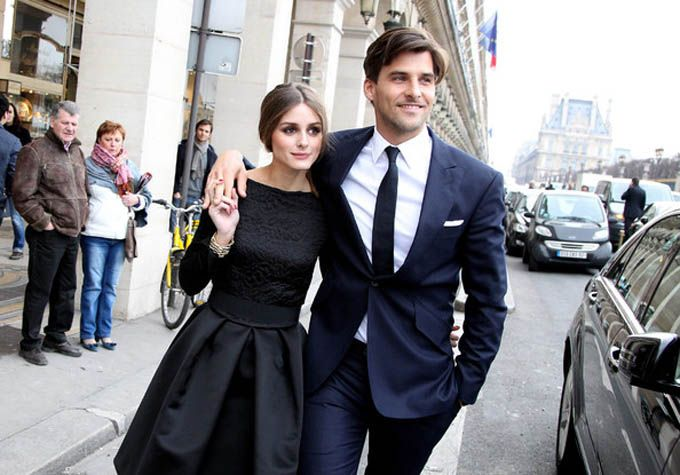 --what a glamorous and gorgeous couple [Olivia Palermo & Johannes Huebl]!