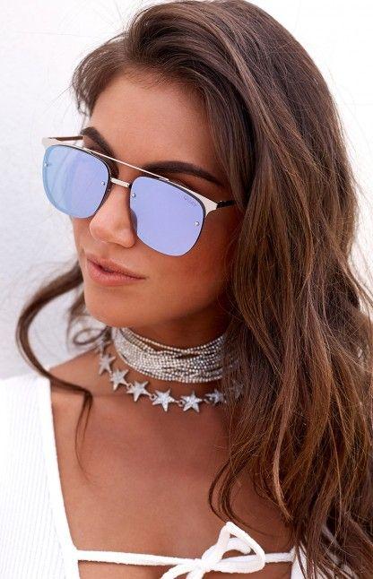 d8e7e4be75cc5 Quay Private Eyes Sunglasses Silver and Violet  https   beginningboutique.com.au