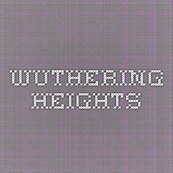 Wuthering Heights Ukulele Chords Pinterest Wuthering Heights