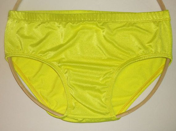 abb5631d21db Men's Bikini Brief Bikini Bathing Suit Speedo Style Swim Beach Resort Spa  Tan Vacation NEON LEMON -