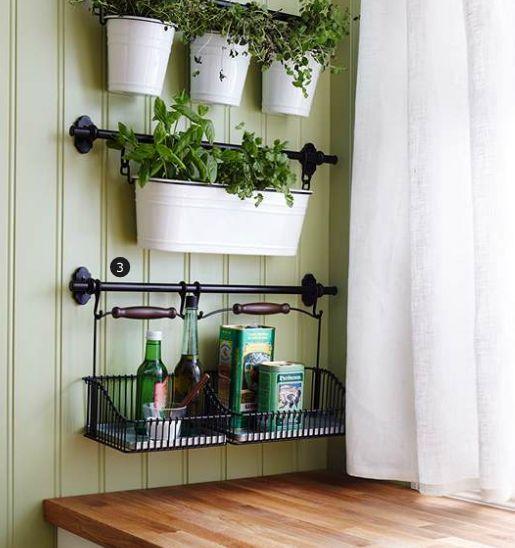 Einfach einen sinnlichen Küchen Kräutergarten anlegen #hangingherbgardens