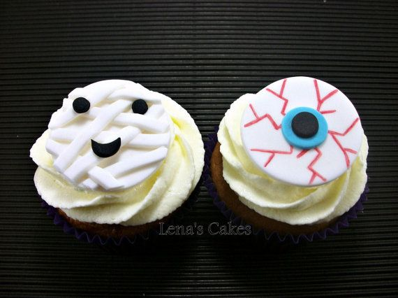 halloween cupcake toppercake edible fondant topperparty decor