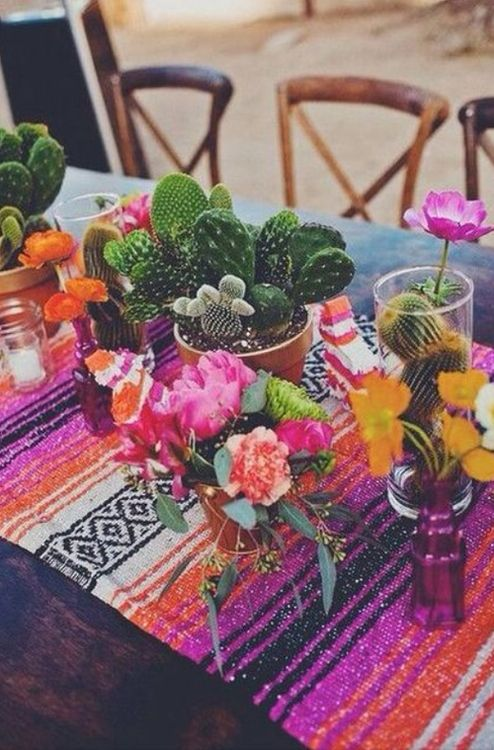 Table settings & outdoor table setting - cacti \u0026 flowers | g a r d e n | Pinterest ...