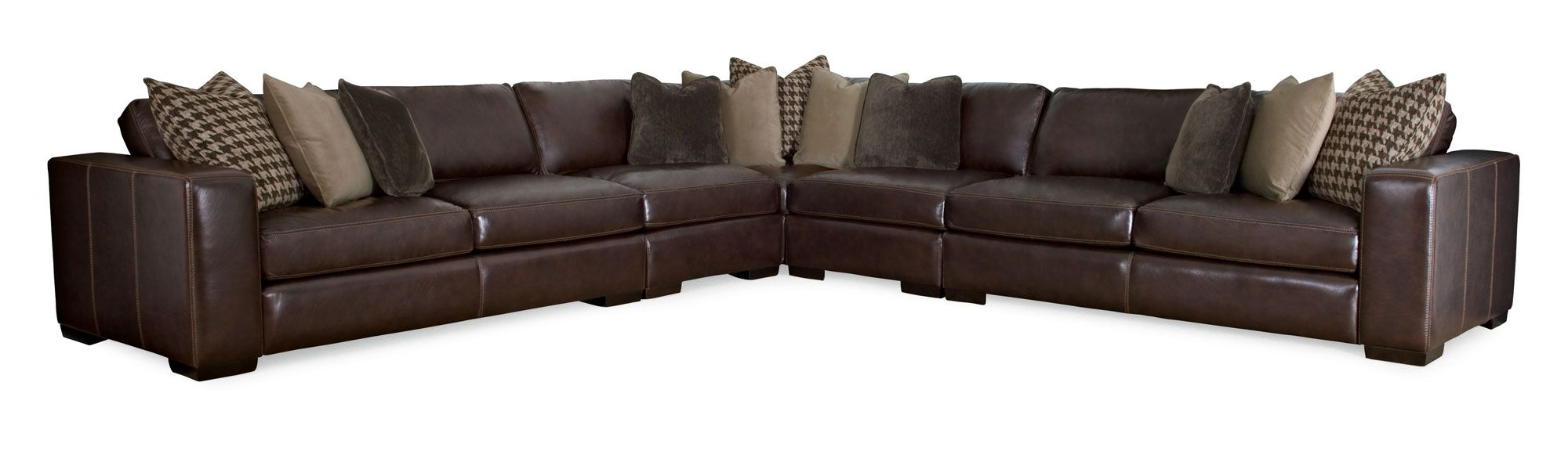 Bernhardt Sectional Leather Sofa Bernhardt Grandview 100