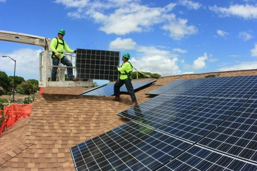Solar Powered Housing For U S Military From Solarcity U S Bancorp Solar Panels Solar Power House Best Solar Panels