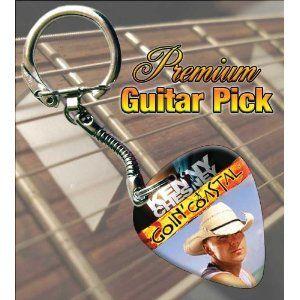 Kenny Chesney Goin Coastal Tour Guitar Pick Keyring $8