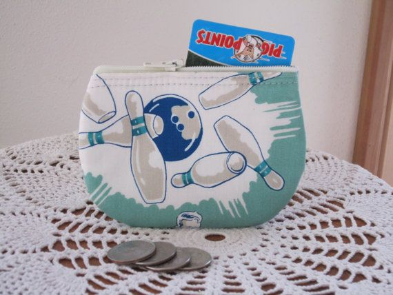 Bowling coin business card clutch zipper small essential oils case bowling coin business card clutch zipper small essential oils case gift card holder in made in colourmoves