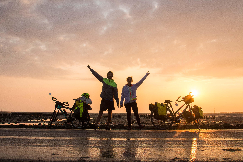La Vélodyssée de Hendaye jusqu'à Roscoff retour sur 1200