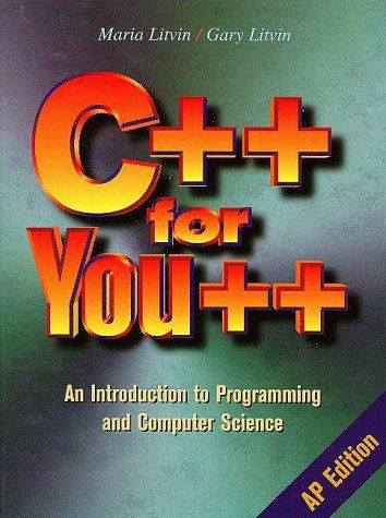 Amazon com: C++ for You++: An Introduction to Programming and