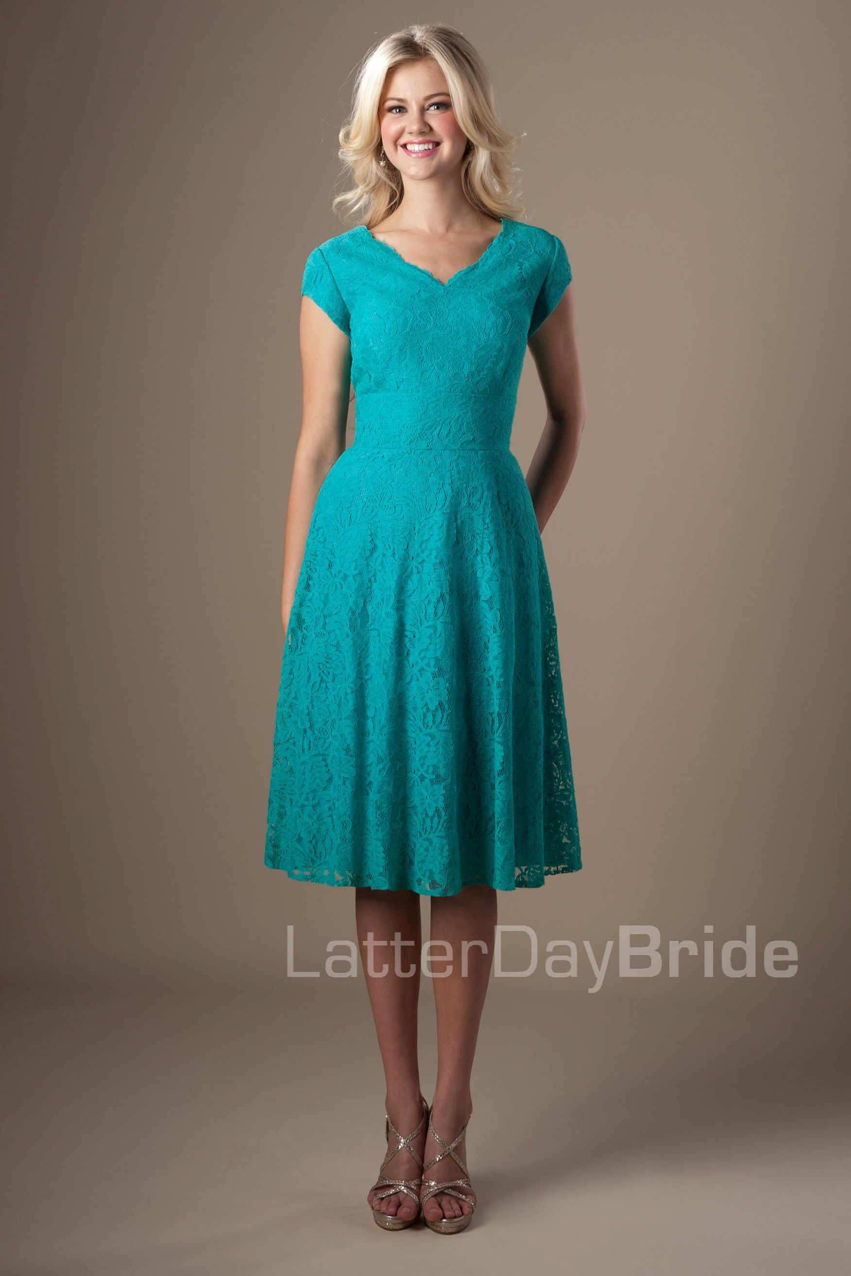 Modest Bridesmaid Dresses : Ivy   dresses   Pinterest ...