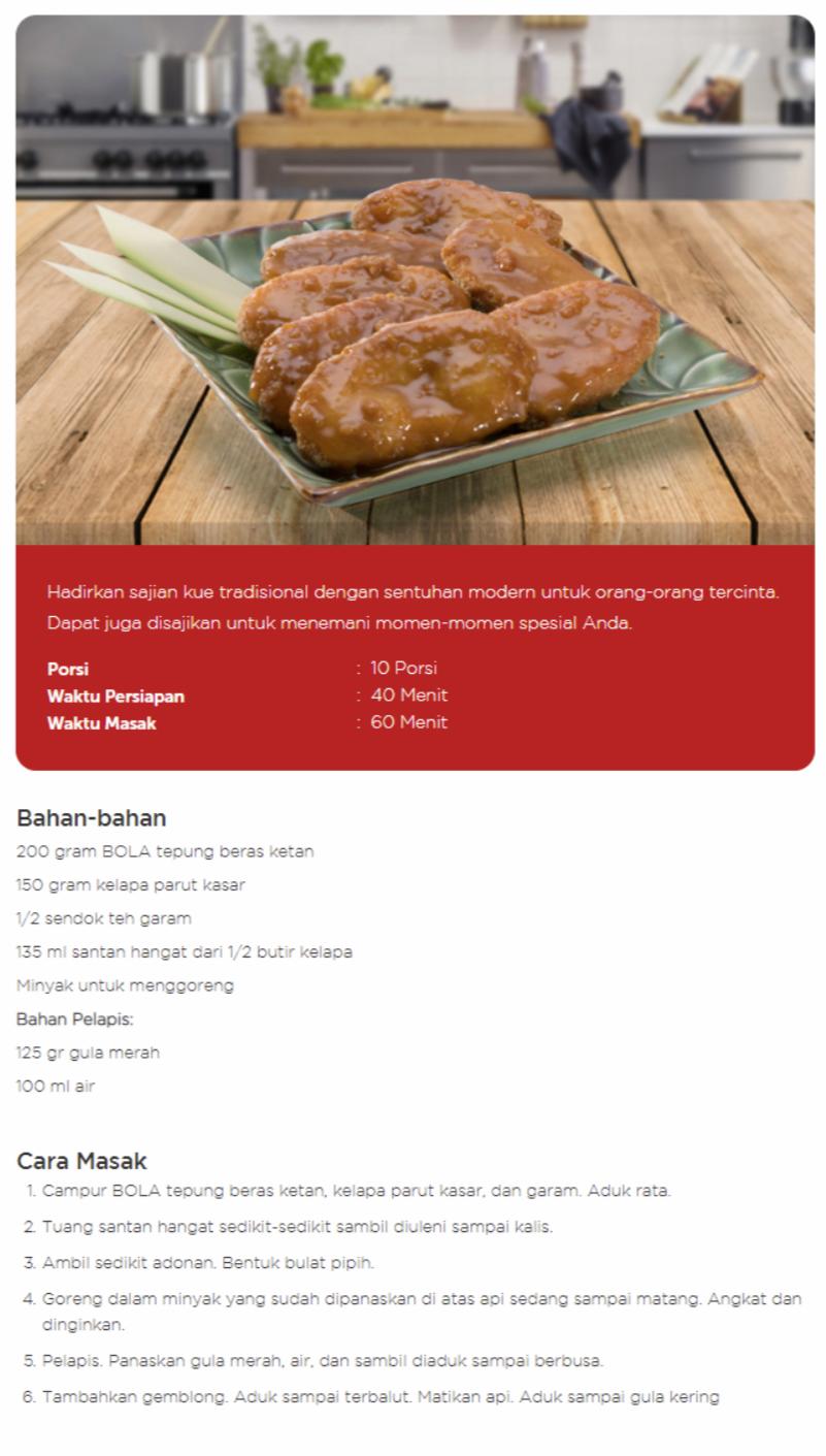 Resep Membuat Gemblong Goreng Gula Merah Resep Makanan Resep Makanan Gula