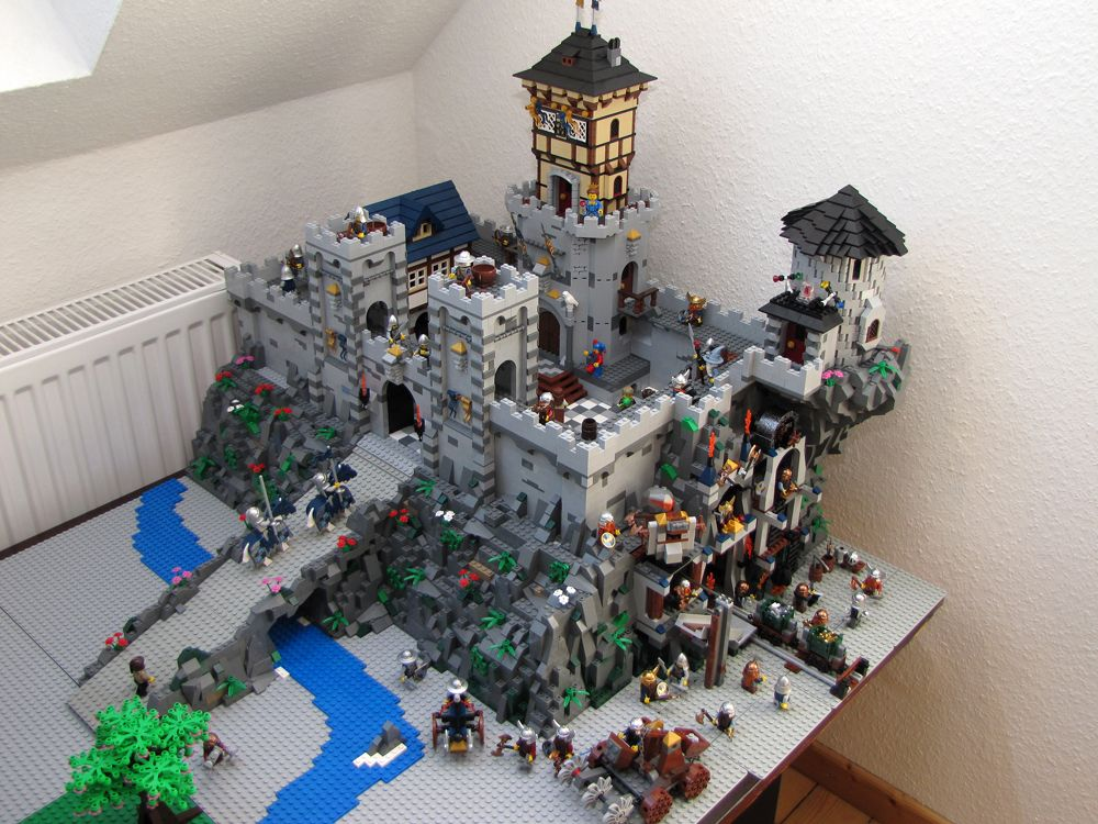Lego Castle Oo I Want This So Bad So Cool Cool Lego