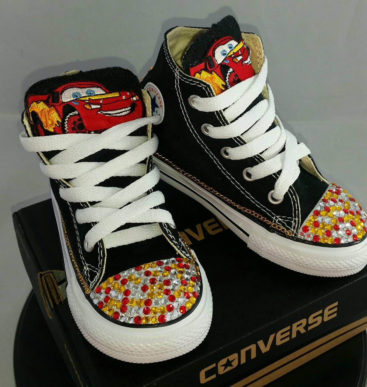 Custom Kids Shoes Lightning New Sneaker Canvas