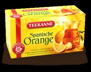 TEEKANNE - Spanische Orange - Ländertee