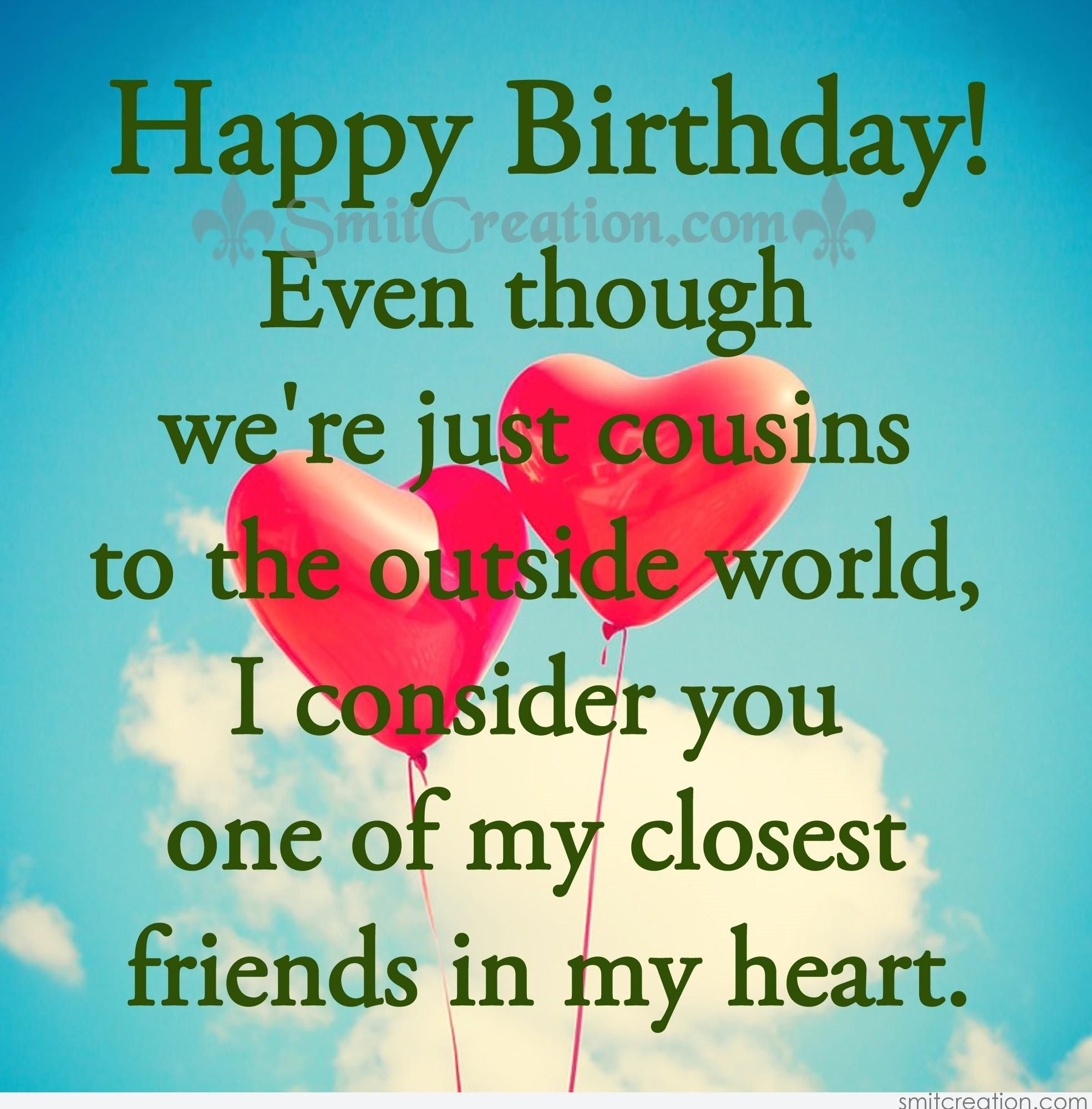 I Love You Cousin Quotes Birthday Wishes For Cousin Pictures Graphics Amp Messages Facebook