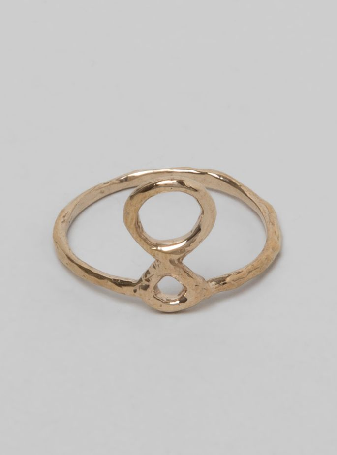 Couverture and The Garbstore - Womens - Odette - Totem Ring