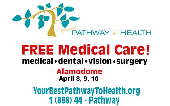 Free Medical Care And Dental And Eyecare Over Three Days In April 2015 In San Antonio Free Medical Medical Dental Medical Care