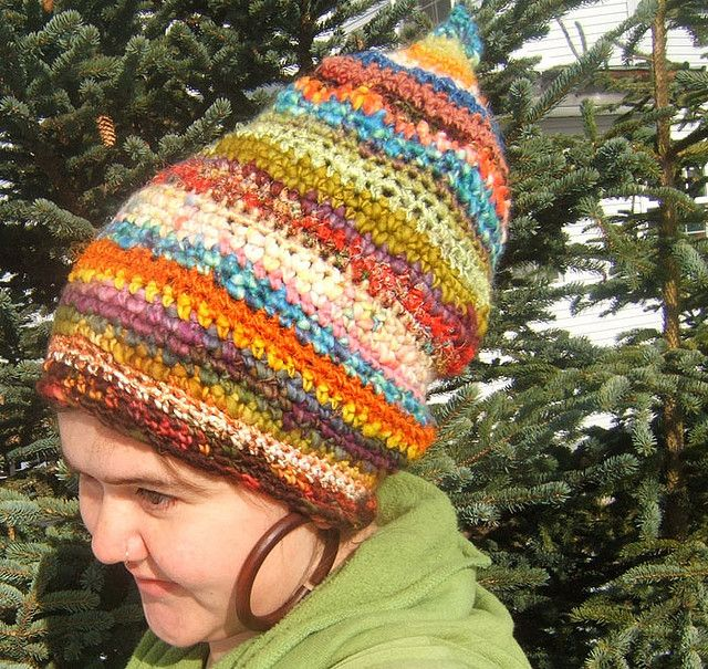 Whimsical Woodland Gnome Slouchy/dreadlock Hat