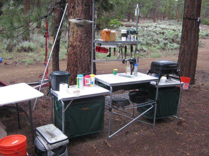 Cabelas Deluxe Camp Kitchen  Camping  Chuck box