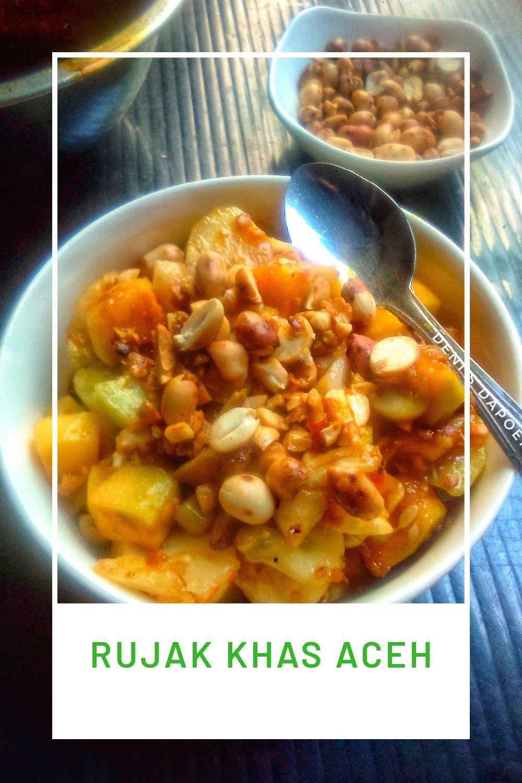 Resep Rujak Aceh Oleh Orange Cooking Resep Memasak Makanan Manis Makanan