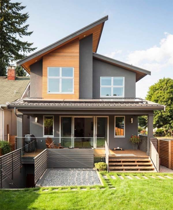 Contemporary renovation with sleek interiors in vancouver also best exterior paint colors for your home house rh pinterest