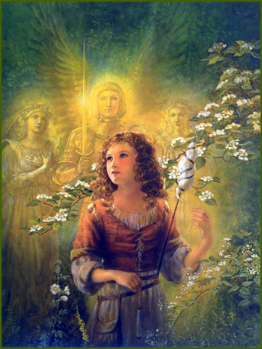 Young Joan of Arc | Kinuko Y. Craft | Fantasy paintings ...