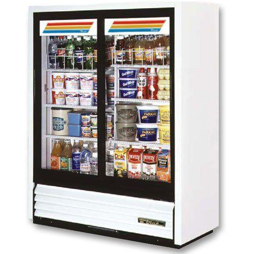 Convenience Store Cooler Two Slide Glass Doors 19 Cu Ft Glass Door Glass Door Refrigerator Sliding Glass Door