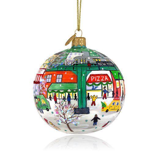 Subway Ornament by Michael Storrings (BLOOMINGDALE'S EXCLUSIVE) - Subway Ornament By Michael Storrings (BLOOMINGDALE'S EXCLUSIVE