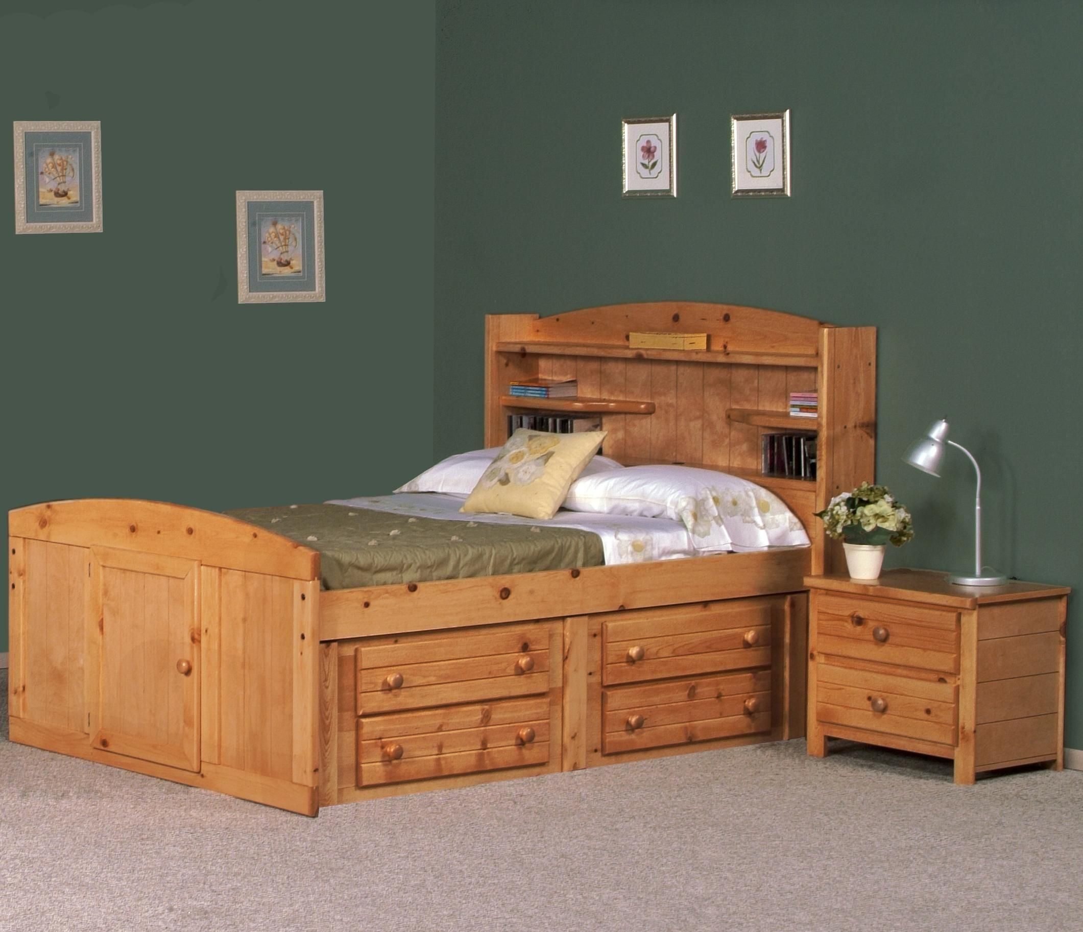 King Size Captain Bed With Drawers
