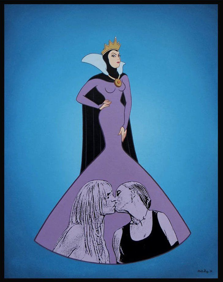 Pin for Later: Disney Characters Get Saucy, Drunk, and Pregnant in NSFW Art Queens Source: José Rodolfo Loaiza Ontiveros