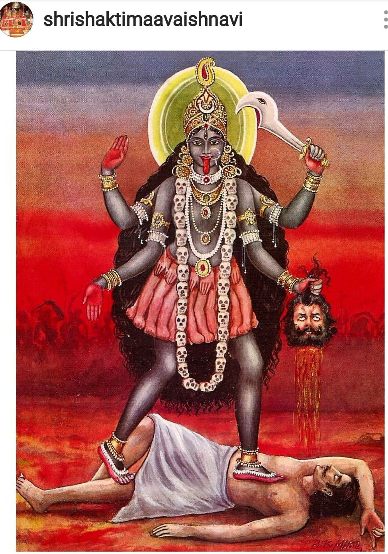 Maha Kali Diosa Kali Deidades Dioses